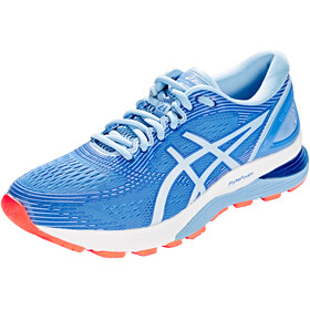 asics Gel-Nimbus 21 Shoes Women, blue coast/skylight